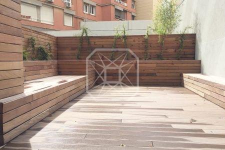 Planta Baja duplex obra nueva 92m2 terraza Francesc Macia