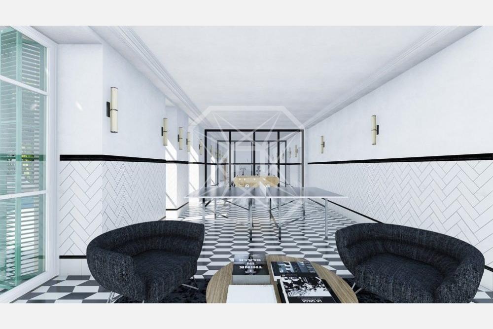 Ático con vistas de 110m2 y 3 habitaciones en Galvany Barcelona