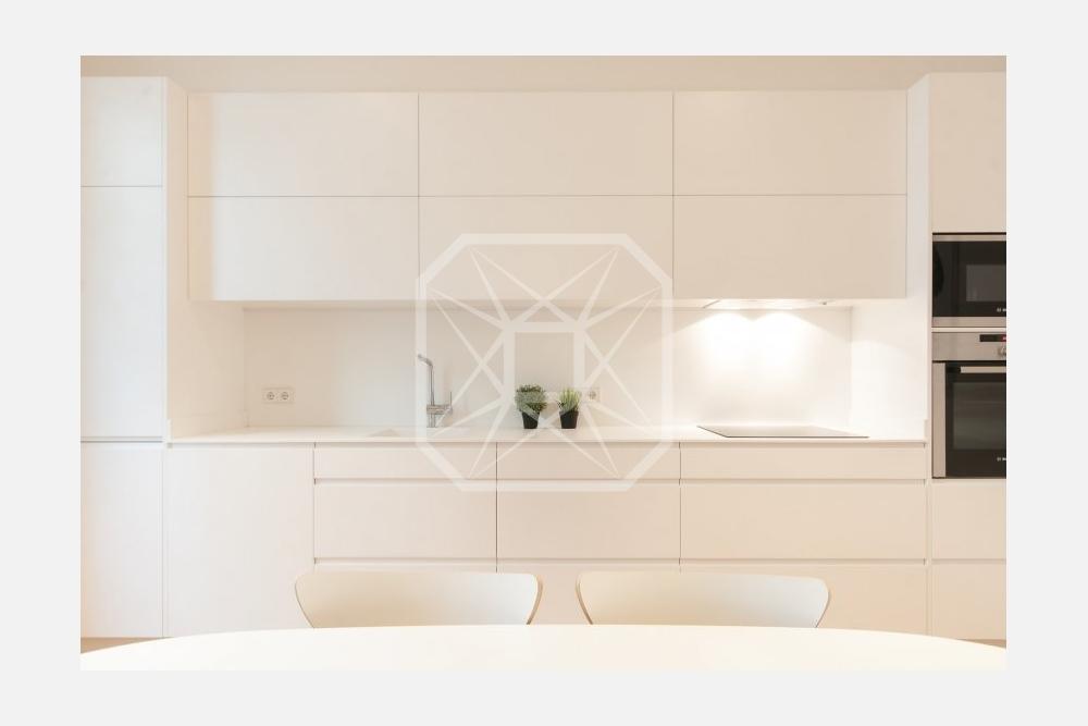 Ático con vistas de 95m2 y 2 habitaciones en Galvany Barcelona