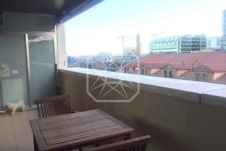 Piso nuevo 95m2 y 3 habitaciones en Poblenou