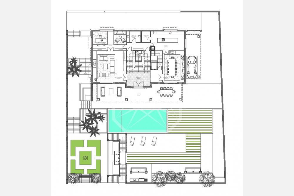 Extenso terreno en Ciudad Diagonal para casa de obra nueva
