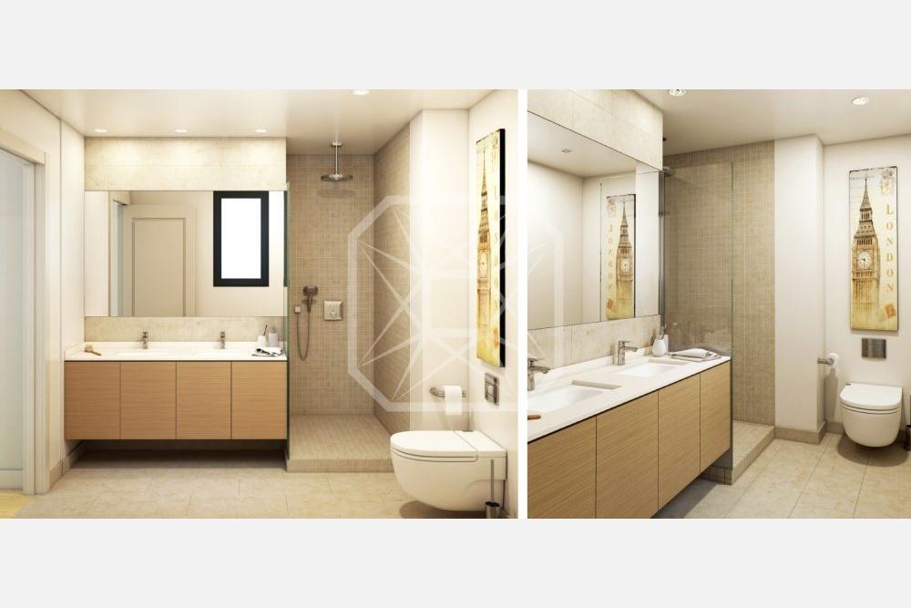 Ático de obra nueva de 3 habitaciones en Muntaner, Galvany